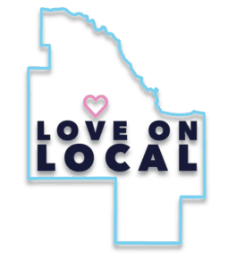Love on Local logo